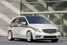 Mercedes-Benz Concept B-Class 2011 Plug-In Hybrid
